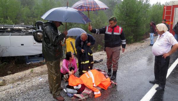 Akseki'deki kazada yaralanan Çinli turist kurtarılamadı