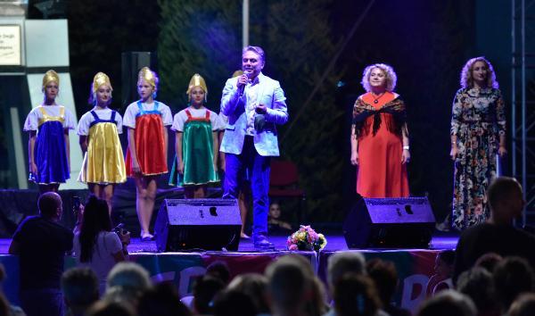 Muratpaşa'da Rusya renkleri
