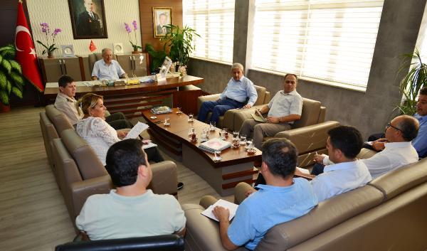 Kumluca'da 29 Ekim hazırlık toplantısı