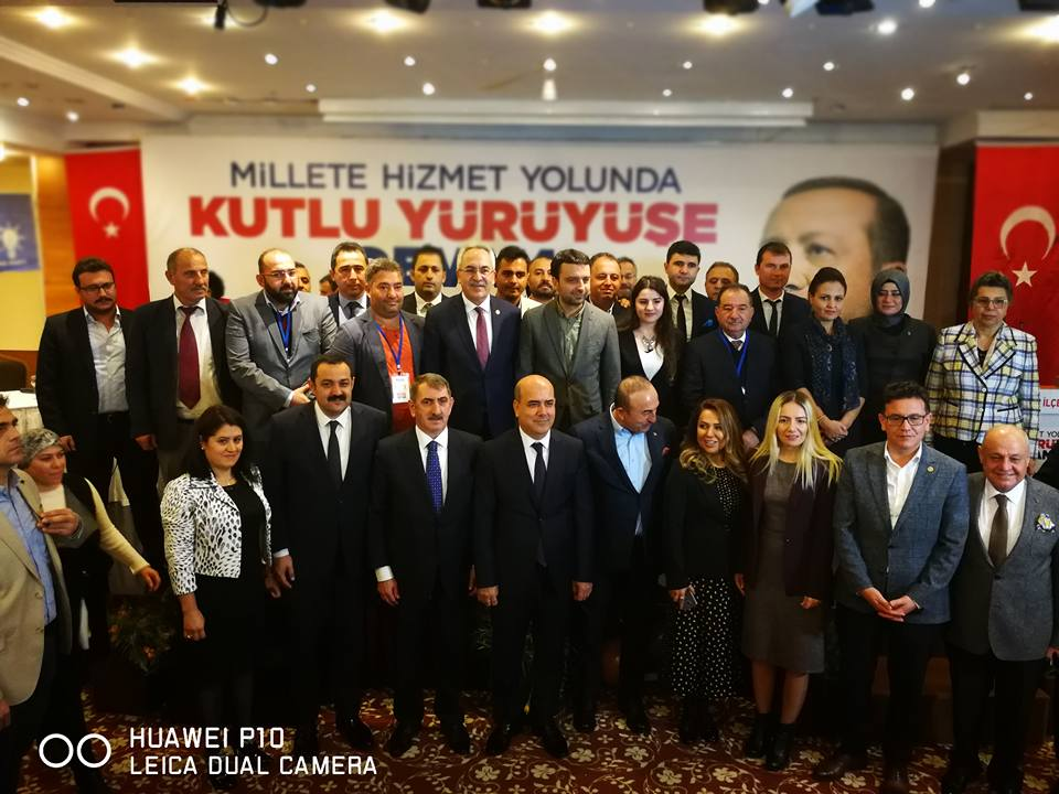 AK Parti Tek Liste İsmail Selami Minta İlçe Başkanı