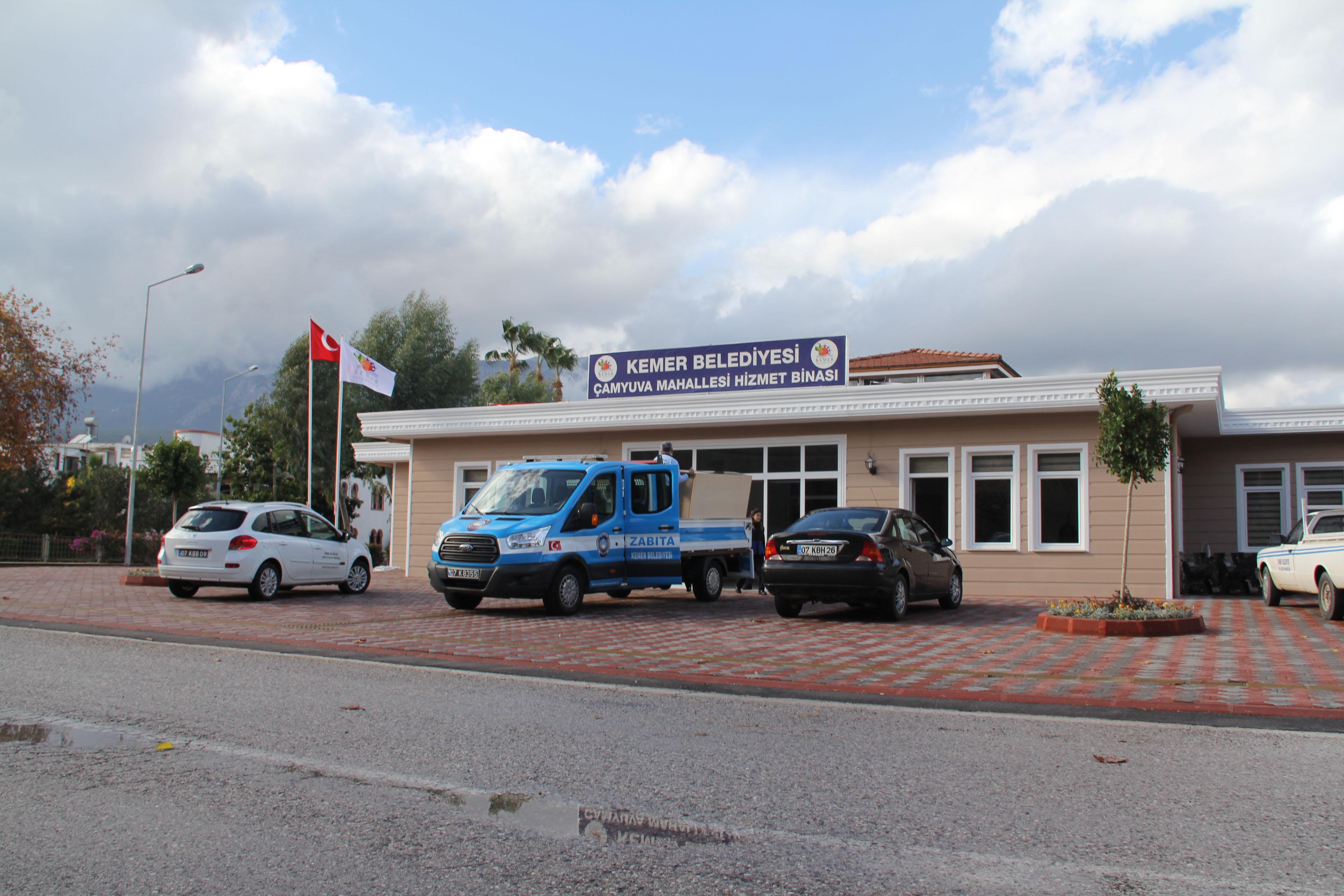 Çamyuva Mahallesi Hizmet Binası Açılyor