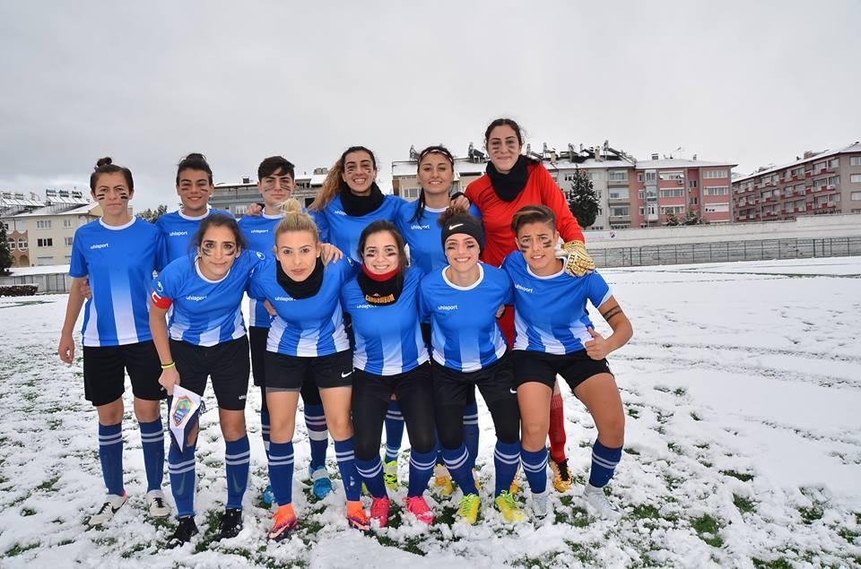 Kemer Belediye Burdur'da Kar Yağdırdı 7-0
