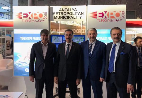 Antalya projelerine Katar'da yoğun ilgi