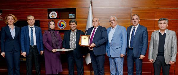 İran-Alborz heyeti ATSO'yu ziyaret etti