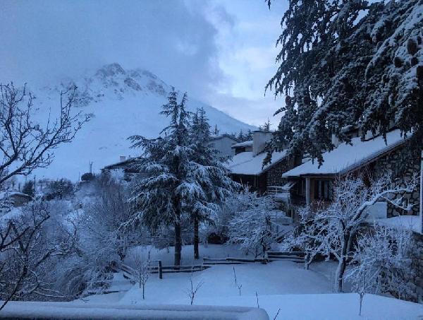 Saklıkent'te yoğun kar yağışı