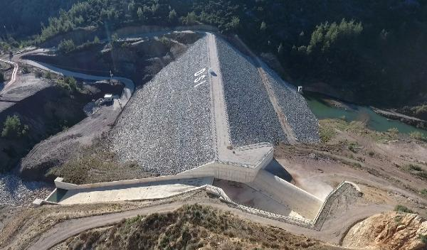 Aksu Karaöz Çepeli Barajı ve Sulaması tamamlandı