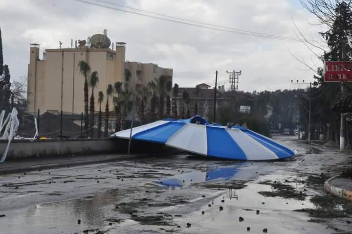 Batı Akdeniz için 2 gün fırtına uyarısı
