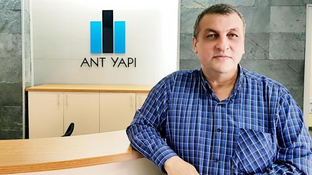 """""""ANT Yapı olarak sanayi inşaatına da yöneliyoruz"""""""