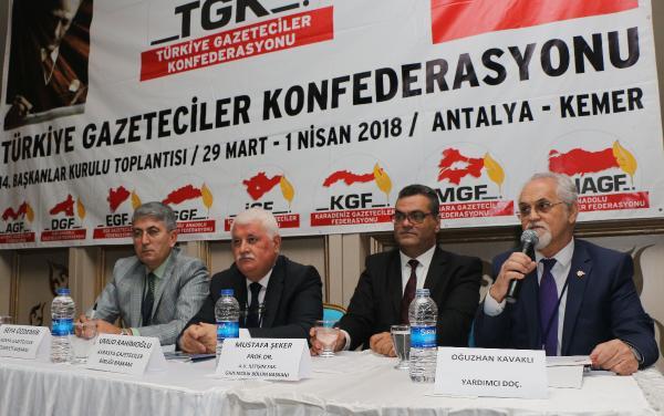 TGK Başkanlar Kurulu Toplantısı, Kemer'de başladı