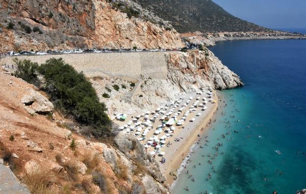 Kaputaş Plajı'ndan geçen otoyola 'ÇED gerekli değildir' kararına iptal