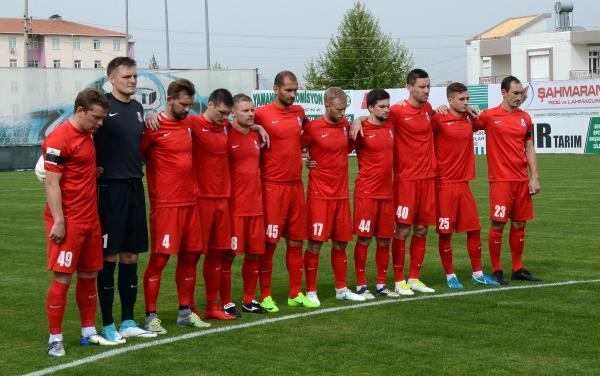 FC Mordovia hazırlık maçında Serik Belediyespor'u yendi