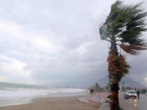 Antalya için fırtına uyarısı