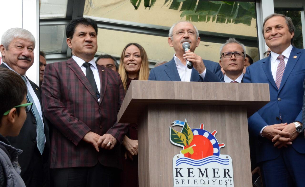 Kılıçdaroğlu Kemer'e geliyor