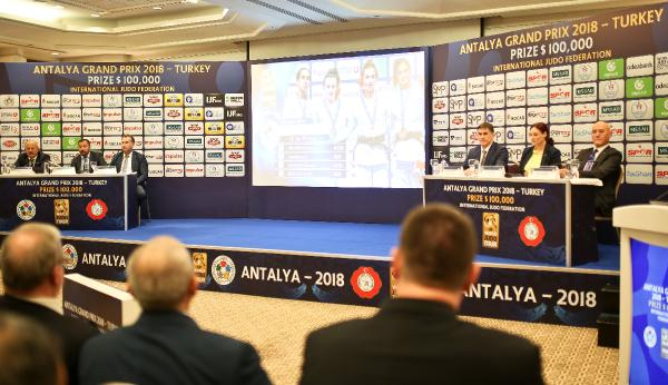 Antalya Grand Prix'in basın toplantısı yapıldı