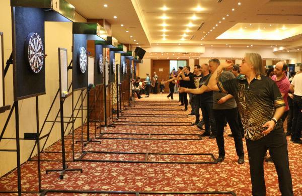 Şehit Demet Sezen Türkiye Dart Şampiyonası 5'inci ayak müsabakaları başladı