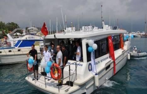 Antalya'da Deniz Otobüsü Seferlerinde Bahar Tarifesi