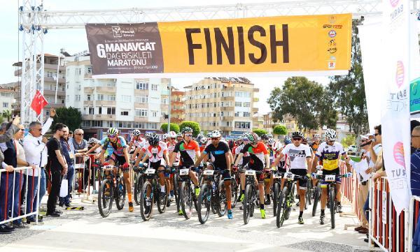 Manavgat'ta Dağ Bisikleti Maratonu koşuldu