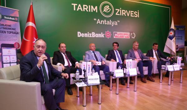 Antalya'da 'Tarım Zirvesi'