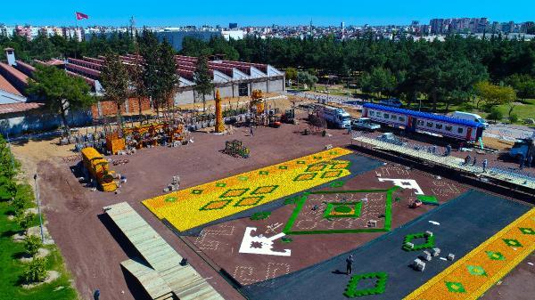 Portakaldan heykeller, Antalya'yı süsleyecek
