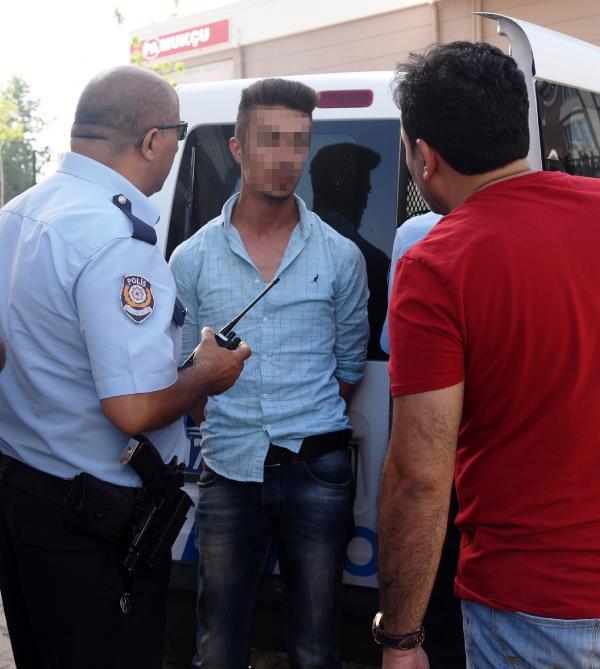 Polisin 'dur' ihtarına uymayan sürücü ehliyetsiz çıktı