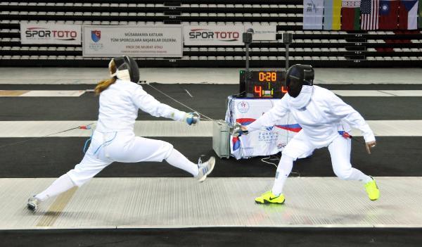 Eskrim Veteranlar Türkiye Şampiyonası ilk kez Antalya'da yapıldı