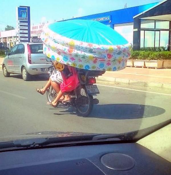Tehlikeli yolculuğa para cezası