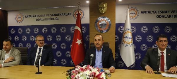 Çavuşoğlu: Türkiye, döviz kuru oyunlarıyla yıkılacak ülke değil