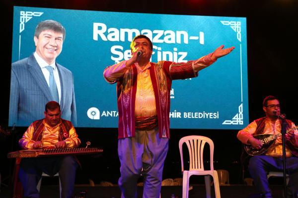 Ramazan etkinliklerinde Gaziantep rüzgarı