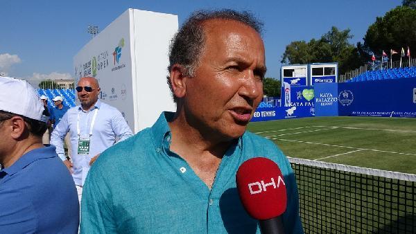 """Cengiz Durmuş: """"Sistemimiz Türk tenisini Grand Slam'lere taşıyacak"""