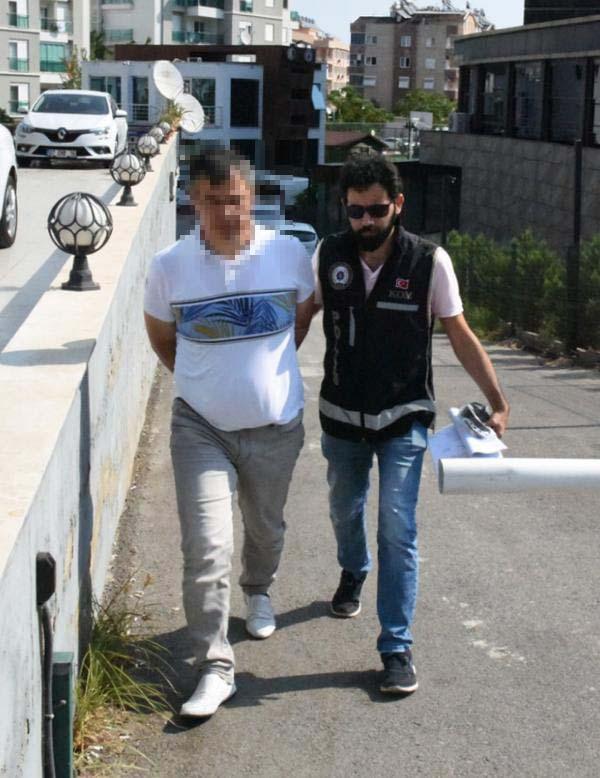 Antalya'da FETÖ'den 16 gözaltı