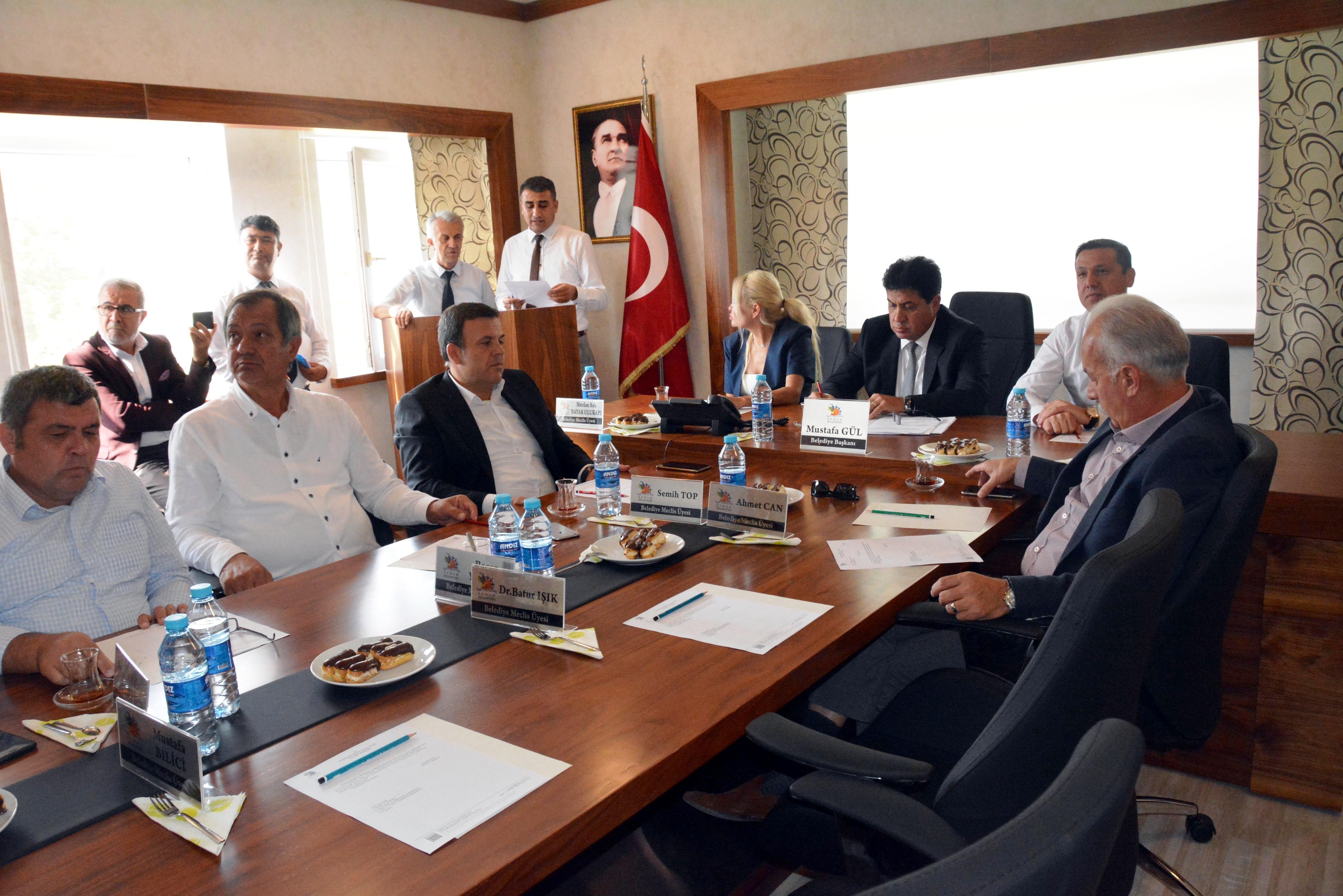 Başkan Gül'den Vali Karaloğlu'na teşekkür