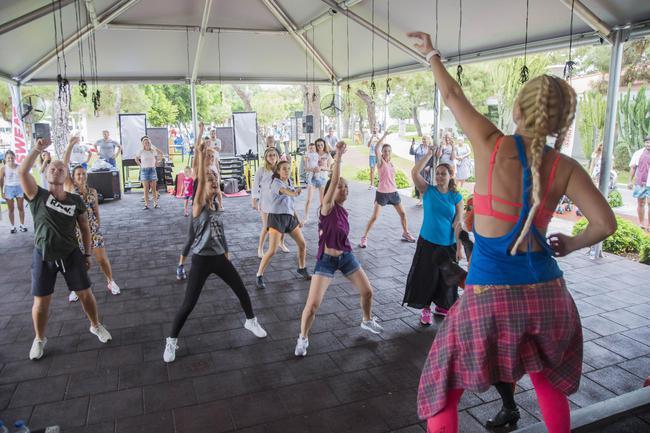 Sweat Fest' Kemer'de Yapıldı