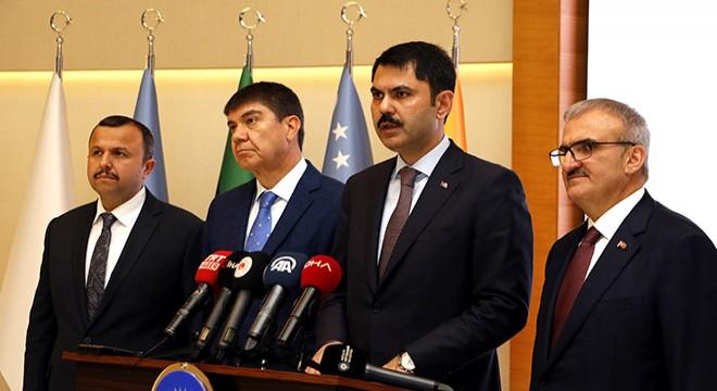Bakan Kurum Antalya Büyükşehir'de…
