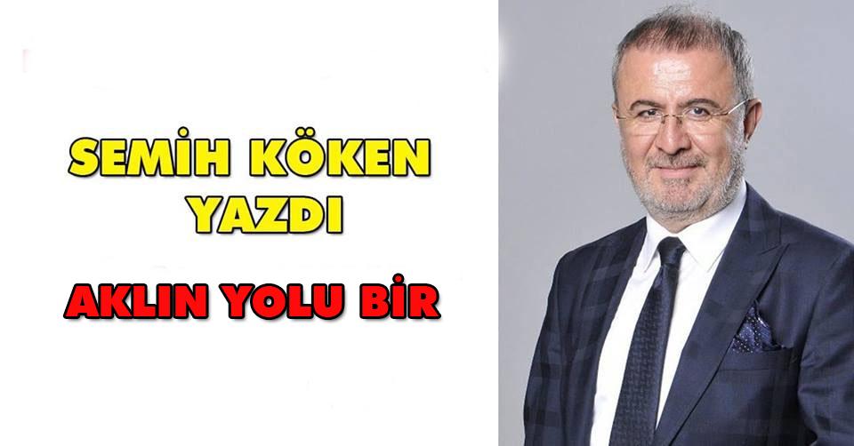 AKLIN YOLU BİR