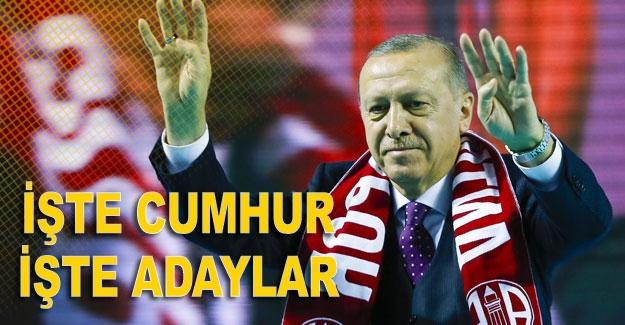 İşte Ak parti Antalya adayları