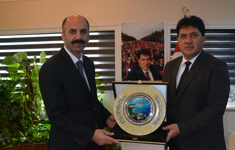 Kaymakam Karameşe'den Başkan Gül'e ziyaret