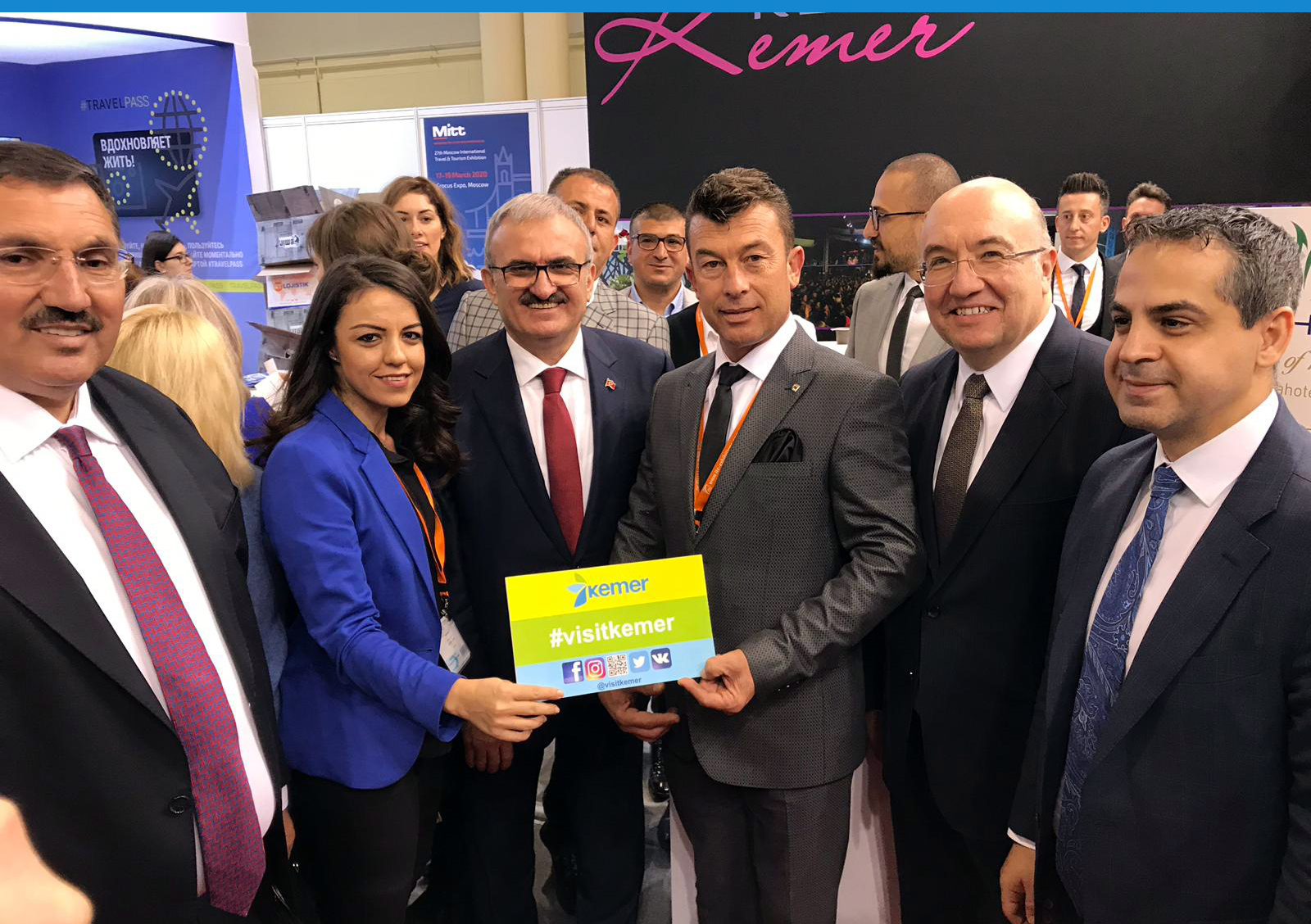 Moskova'da Kemer'e yoğun ilgi