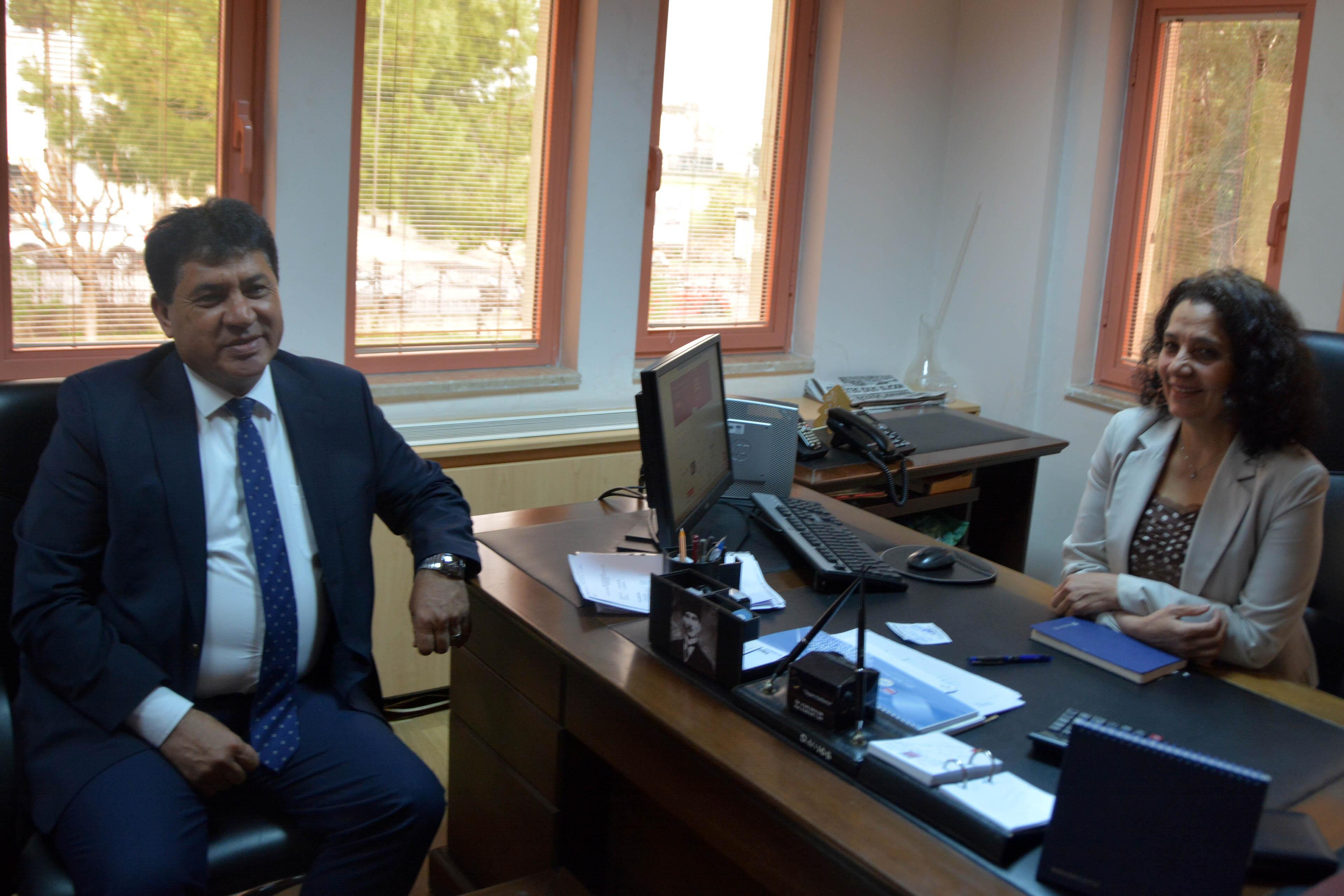 Başkan Gül'den muhasebecilere ziyaret