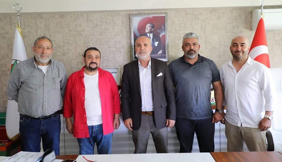 Başkan Öncelik'ten Alanyaspor'a taziye ziyareti
