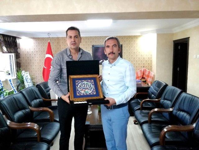 TÜRSAB, Kemer Kaymakamı Murtaza Dayanç ile turizmi konuştu