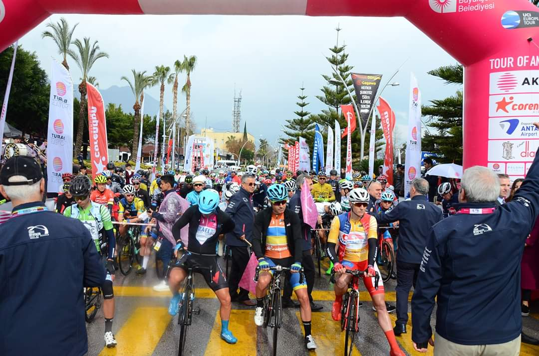 Kemer-Antalya Etabı Bisiklet Turu başladı.