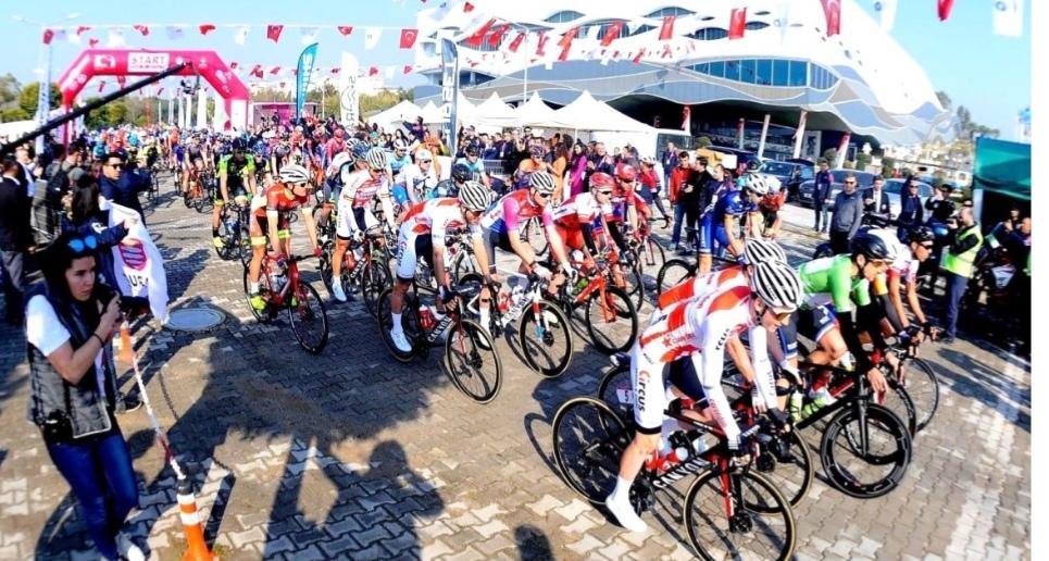 3.. Antalya Bisiklet Turu başlıyor