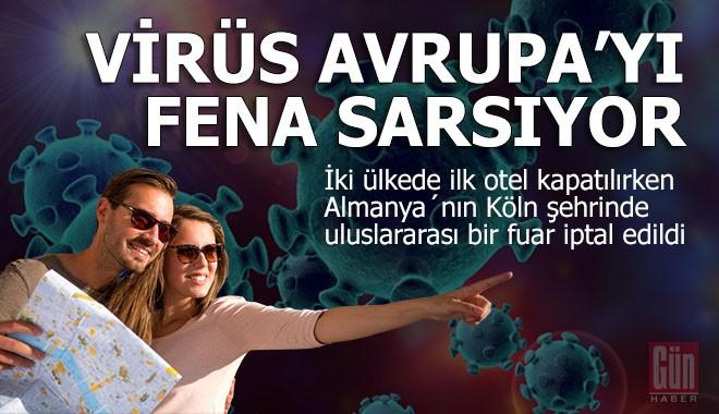 Virüs Avrupa'yı kapana kıstırdı