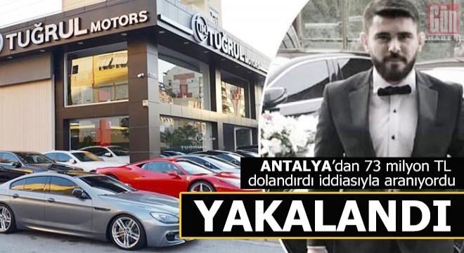Antalyalıları 73 milyon TL dolandırmakla suçlanıyor