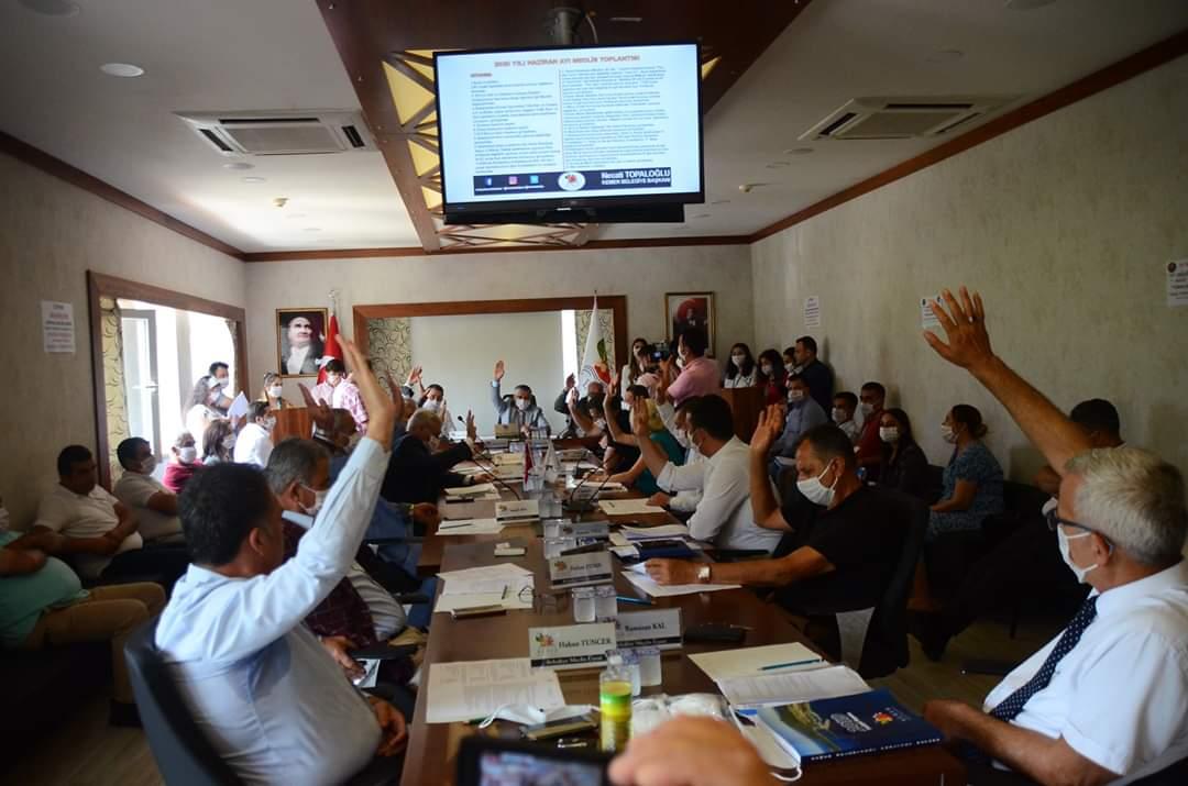 Kemer Belediyesi Olağan Meclis Toplantısı Yapıldı