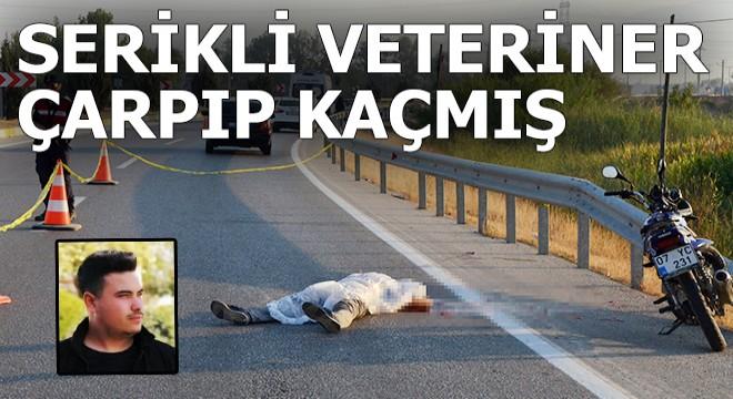 Süleyman'a Serikli veteriner çarpıp kaçmış
