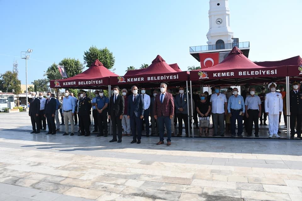 19 Eylül Gaziler Günü için Cumhuriyet Meydanı'nda tören düzenlendi.