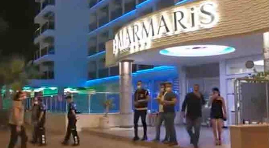 Dört yıldızlı otel mühürlendi, müşteriler başka otele gönderildi
