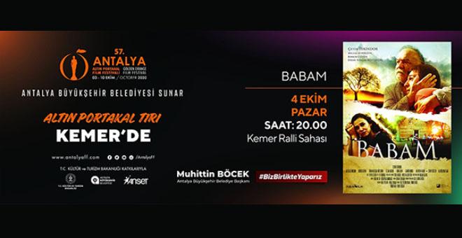 'ALTIN PORTAKAL SİNEMA TIRI' KEMER'E GELİYOR