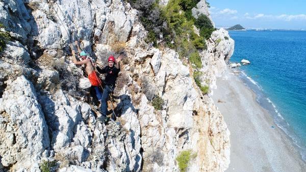 Ukraynalı turist 6 saatte kurtarıldı